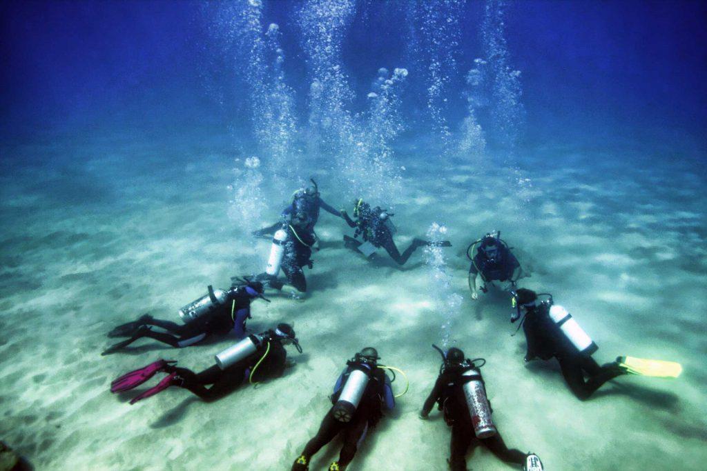 Scuba Diving, Rhodes Island, Greece